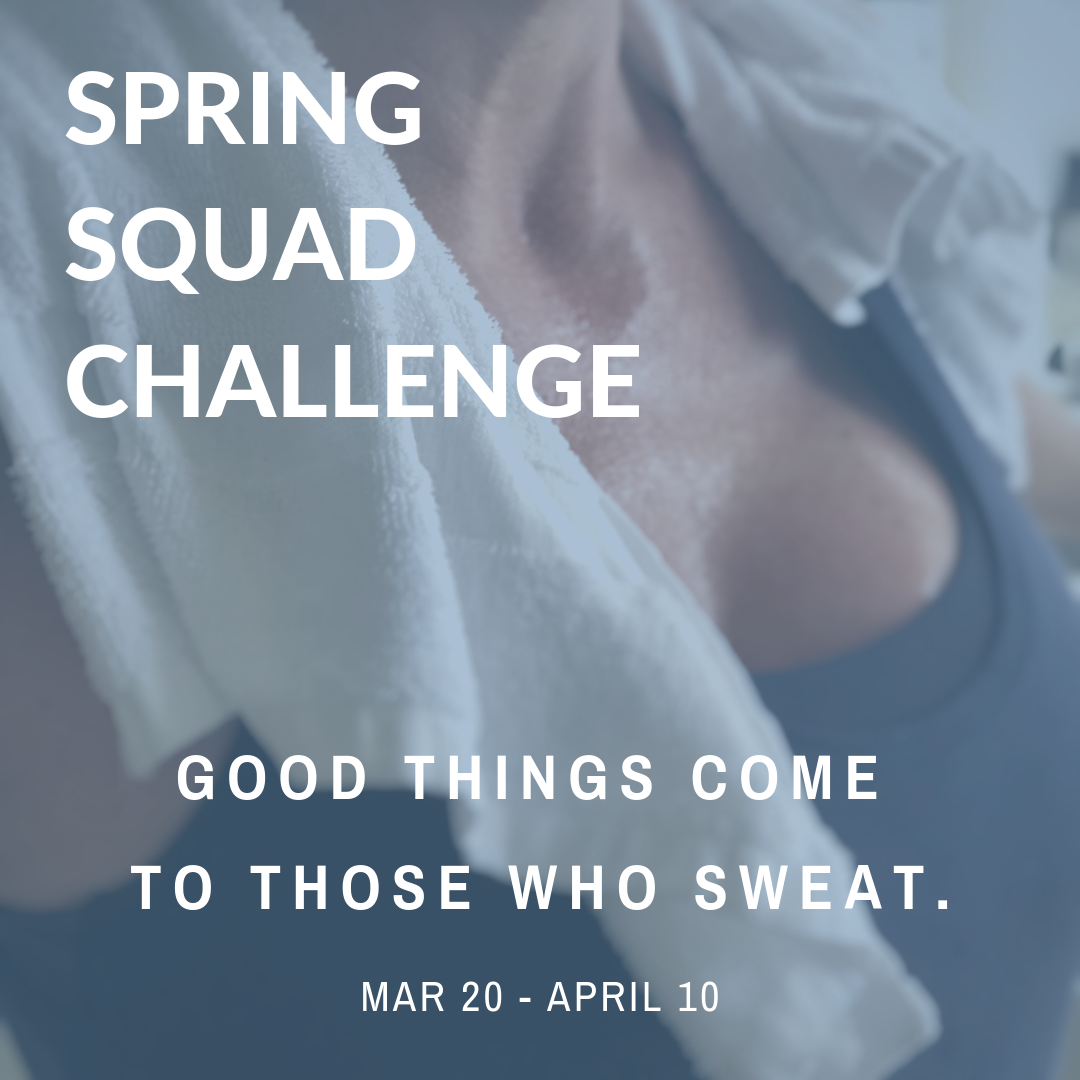 MOXIE March Newsletter: Good things come to those who sweat.